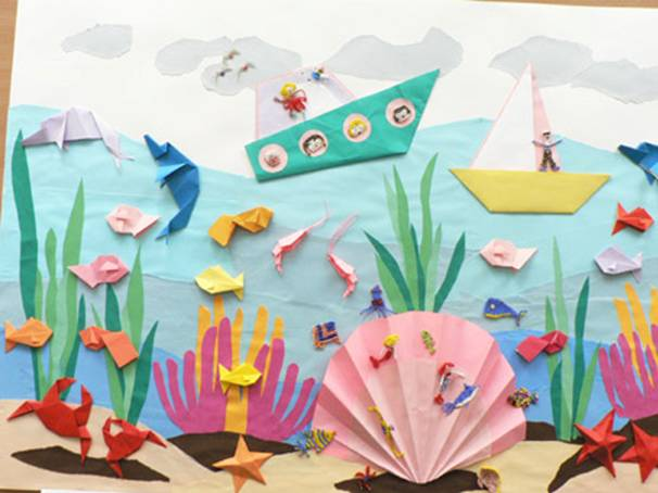 Оригами открытые уроки
